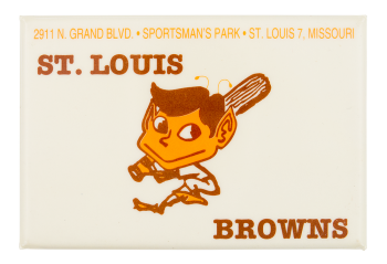 St. Louis Browns Innovative Button Museum
