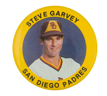 Steve Garvey San Diego Padres Sports Button Museum