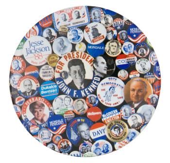Democrat Presidential Campaign Buttons Political Button Museum