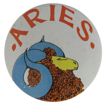 Aries Social Lubricators Button Museum