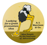 A.I. Morrison and Co. Advertising Button Museum