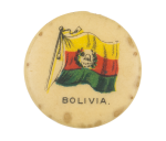 Bolivia Flag Advertising Button Museum