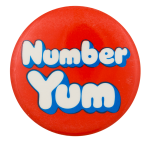 Bubble Yum Number Yum Advertising Button Museum