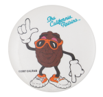 The California Raisins Sunglasses Advertising Button Museum