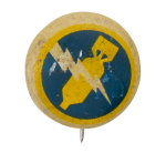 Kelllogg's Pep 370th Bombardment Squadron Advertising Button Museum