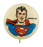 Kellogg's Pep Superman Advertising Button Museum