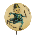 Little Pinkies The Policeman Advertising Button Museum
