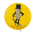 Mr. Peanut Advertising Button Museum