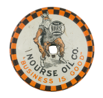 Nourse Oil Company Advertising Button Museum