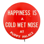 Puppy Palace Advertising Button Museum