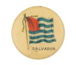 Salvador Flag Advertising Button Museum