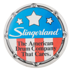 Slingerland Drums Advertising Button Museum