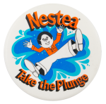 Take the Nestea Plunge Advertising Button Museum