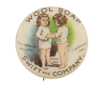 Wool Soap Swift And Company Advertising Button Museum