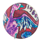 1980 Bird Art Button Museum