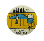 Bar Fly Art Button Museum
