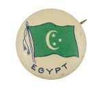 Egypt Flag Art Button Museum
