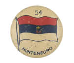 Montenegro Flag Art Button Museum