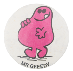 Mr Greedy Art Button Museum