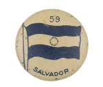 Salvador Flag 59 Art Button Museum
