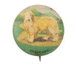 Sheep Dog Art Button Museum
