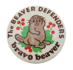 The Beaver Defenders Beavers Button Museum