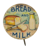 Bread and Milk Cause Button Museum