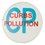 Curbs Pollution Cause Button Museum