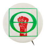 Ecology Solidarity Cause Button Museum