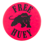 Free Huey Cause Button Museum