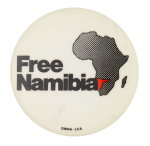 Free Namibia Cause Button Museum