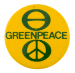 Greenpeace Cause Button Museum
