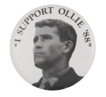 I Support Ollie Cause Button Museum