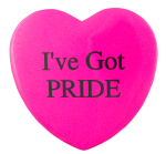 I've Got Pride Cause Button Museum