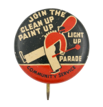Join the Clean Up Paint Up Cause Button Museum