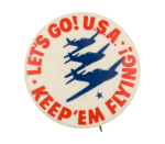 Let's Go! U.S.A. Cause Button Museum