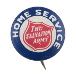 The Salvation Army Home Service Cause Button Museum