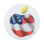 United States Education Cause Button Museum