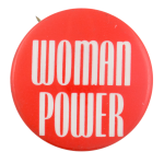 Woman Power Cause Button Museum
