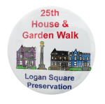 25th House and Garden Walk Chicago Button Museum