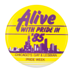Alive With Pride Chicago Button Museum