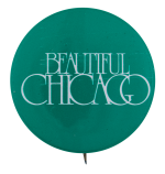 Beautiful Chicago Green Chicago Button Museum