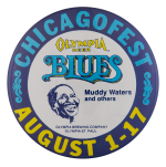 Chicagofest Blues Chicago Button Museum