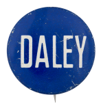 Daley Blue Chicago Button Museum