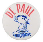 De Paul Blue Demons Chicago Button Museum