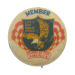 Bundles for America Member Club Button Museum