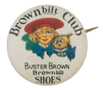 Buster Brown Bilt Club Club Button Museum