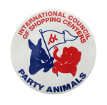 International Council of Shopping Centers Club Button Museum