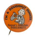 Hommel's Downyflake Doughnuts Club Button Museum