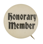 Honorary Member Club Button Museum